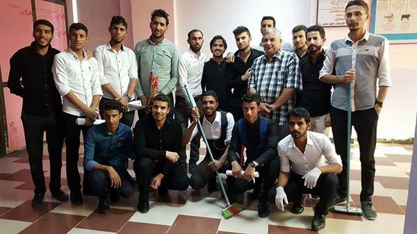 كلية التربية للعلوم الصرفة تتشرف بخدمة زوار الامام الحسين عليه السلام