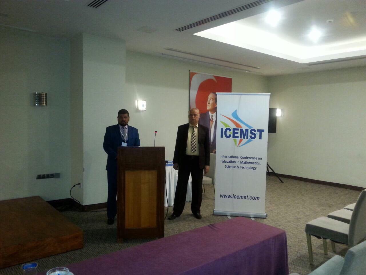 مشاركة الدكتور ياسر دخيل كريمش في مؤتمر دولي